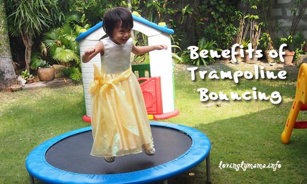 health benefits of trampoline bouncing - rebounding for kids
