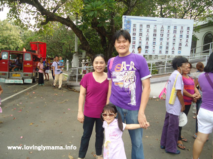 March for Jesus - Bacolod - family