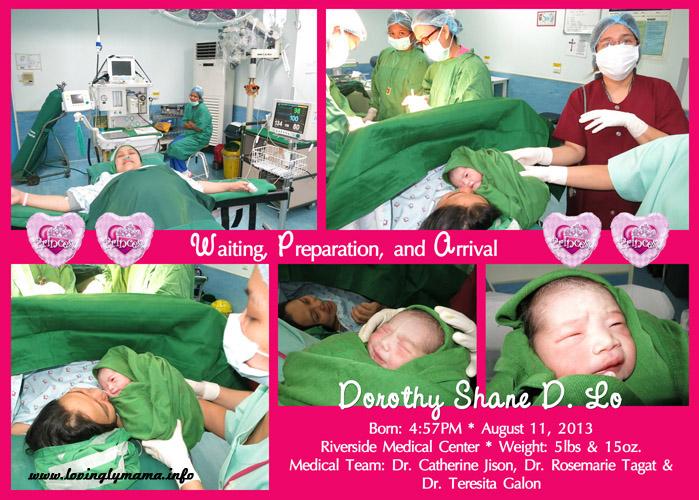 Riverside Hospital - childbirth - unang yakap