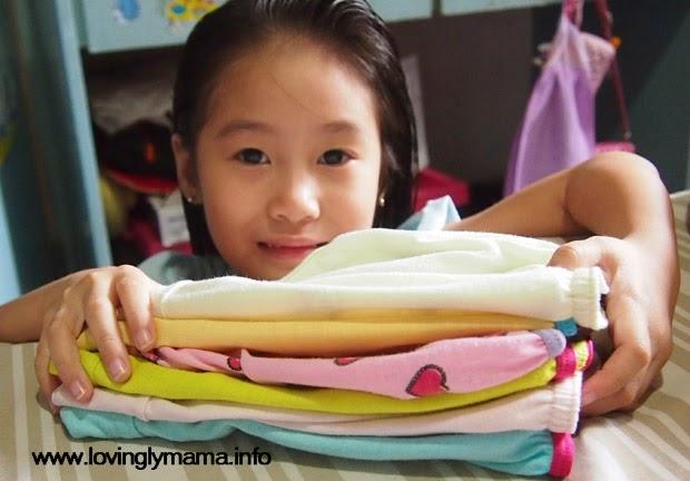 folding underwear -parenting