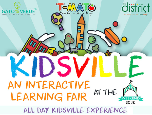 Kidsvilled Interactive Learning Fair