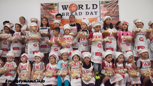 World Bread Day 2016 sandwich making activity