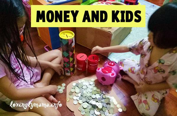 money and kids - teaching them to save