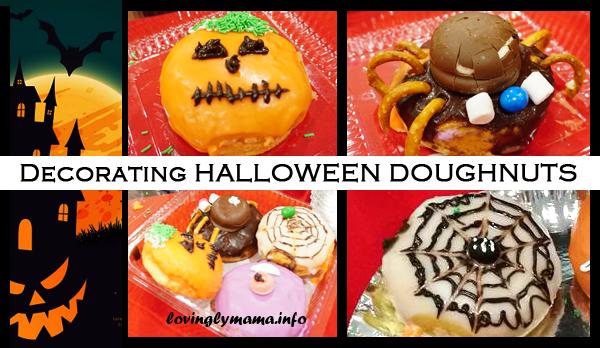 HALLOWEEN doughnut designs