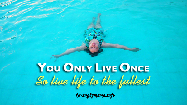 YOLO quote