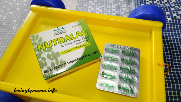 Nutralac malunggay capsules