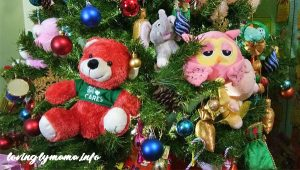 DIY Christmas tree decors - teddy bears
