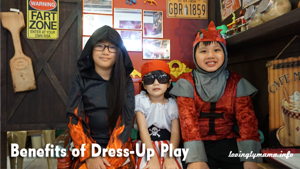benefits of Dress-up play