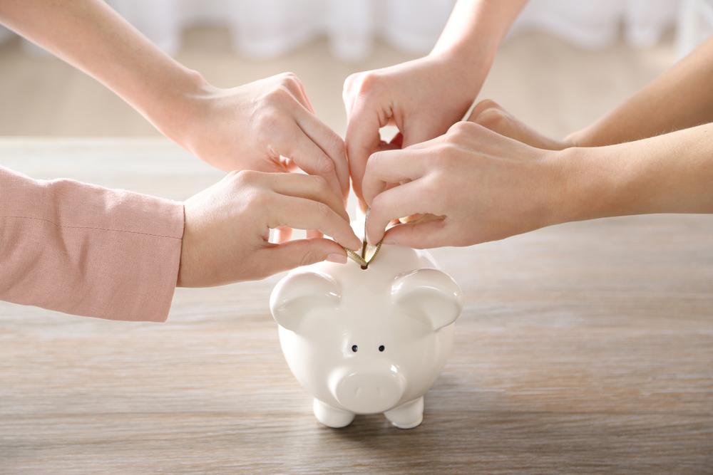 saving for family budget