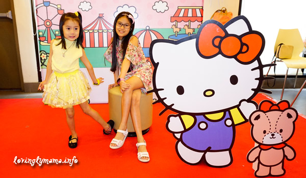 Jollibee Kids Party - Hello Kitty photo booth
