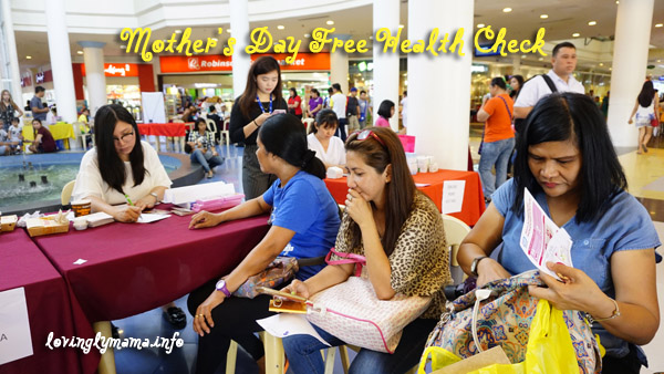 Mother's Day free health check up