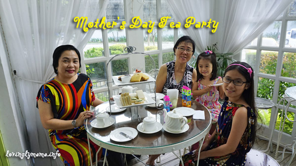 mothers day - tea party for mom - tiffany's confections - motherhood
