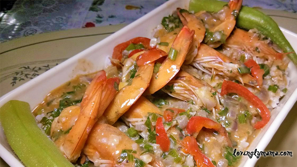 seafood recipe - shrimp recipe - seafood dishes - shrimp Etouffee - homecooking - from my kitchen