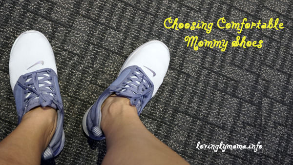 tips in choosing comfortable mommy shoes - best mom shoes - The Sports Warehouse