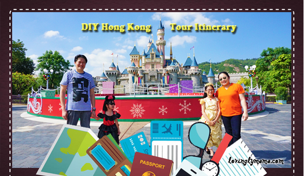 DIY Hong Kong Tour Itinerary - Hong Kong family tour - visit Hong Kong -Macau attractions