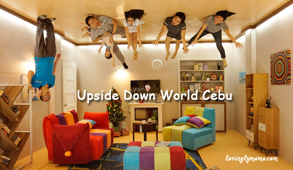 Upside Down World Cebu - living room - family time