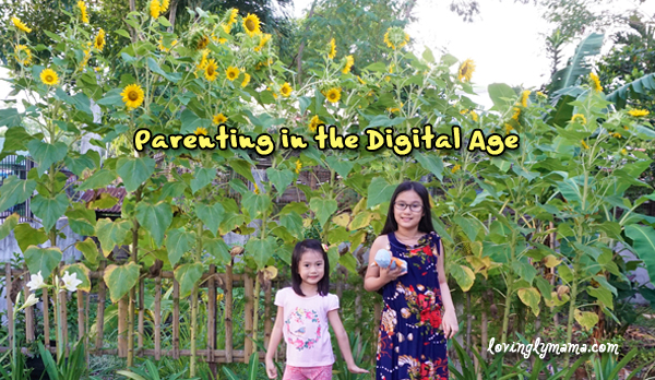 parenting in the digital age - playing outdoors