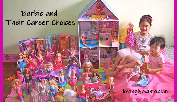 Barbie dolls - Barbie doll collection - Barbie dream doll house - girls - sisters - pink - toys - Filipino mommy blogger - Filipino mommy blog - Bacolod mommy blogger