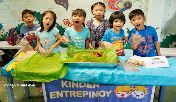Entrepinoy - entrepreneurship for kids - money for kids - bright kids preschool - native delicacies - araw ng lahi