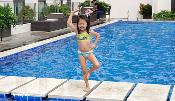shane - swimming - Seda Capitol Central - weekend Seda hotel bacolod - birthday weekend - staycation