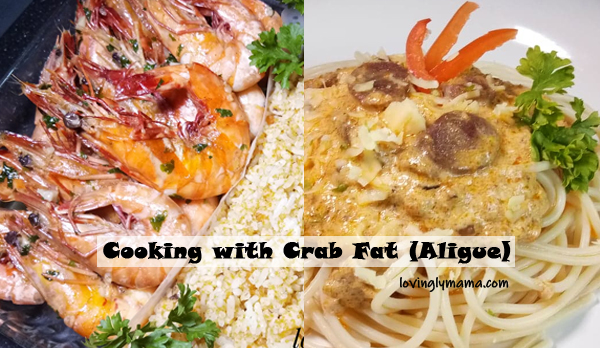 cooking with crab fat - crab fat paste - aligue - how to make crab fat paste - crab aligue - homecooking - from my kitchen - -seafood - seafood dishes