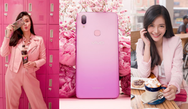 Vern and Verniece - blogging sisters - family travel - pink - Vivo 11i fairy pink- Bacolod blogger - cover- pink phone