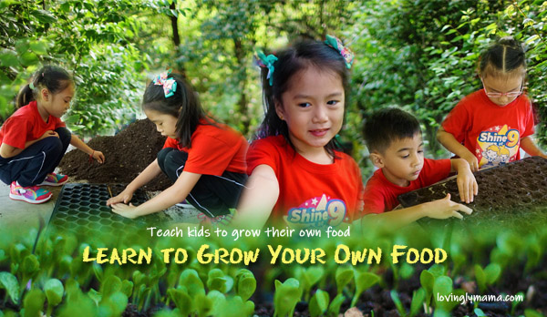 teach kids to grow their own food - Bright Kids Preschool - field trip - homeschooling - Bacolod preschool - Bacolod blogger - Bacolod mommy blogger - Negros Farmers Weekend Market - Bacolod City - Negros Occidental