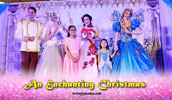 An Enchanting Christmas - princess - Disney princess - Cinderella - Snow White - Prince Charming - musicale - Bacolod blogger - Bacolod mommy blogger - Robinsons Place Bacolod - cover
