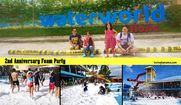 WaterWorld Iloilo 2nd Anniversary foam party - family travel - Iloilo City - Iloilo resort - Iloilo water park -Iloilo hotel- Bacolod blogger - Bacolod mommy blogger