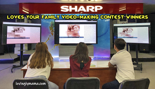 Sharp Loves Your Family Judge_video making contest winners