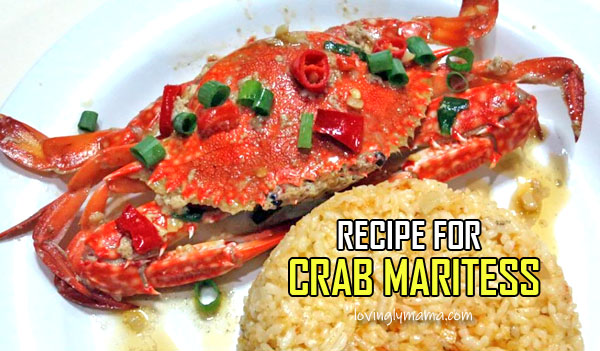 crab maritess recipe -seafood recipe - homecooking - from my kitchen - Bacolod mommy blogger - crab fat - crab maritess with rice COVER
