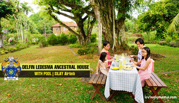 Delfin Ledesma Ancestral House with pool - Silay Airbnb - Bacolod blogger - Bacolod mommy blogger - family travel - family breakfast