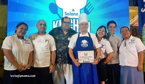 Solane Kitchen Hero Region VI - Solane - homecooking - Iloilo chef - Bacolod mommy blogger - winner