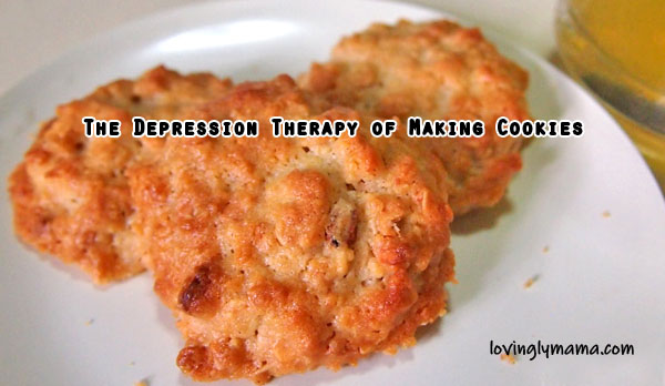 baking cookies - depression therapy - homecoking - Bacolod mommy blogger