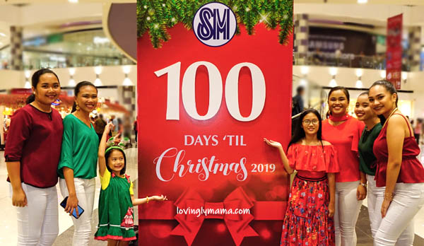 100 days Christmas countdown - SM City Bacolod - Bacolod mommy blogger - Santas elves - Christmas choir