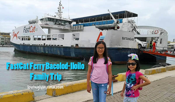 FastCat Ferry Bacolod-Iloilo trip - family travel - Bacolod mommy blogger - business class -daughters