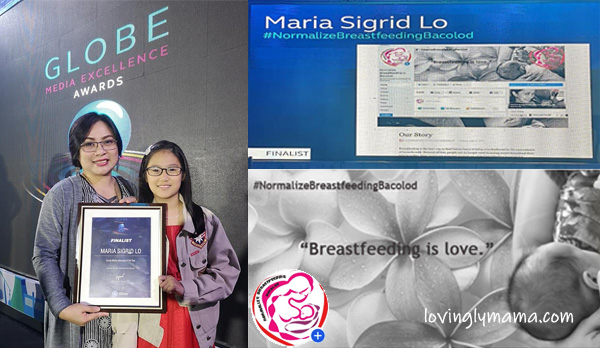 normalize breastfeeding in Bacolod campaign - Bacolod mommy blogger - GMEA 2019 - finalist