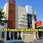 FB Travellers Inn - San Carlos City hotel - Bacolod mommy blogger - family travel - Ford Ranger Wildtrak road trip - facade