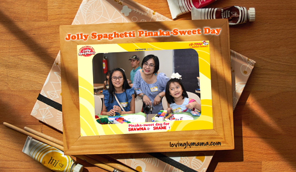 Jolly Spaghetti Pinaka Sweet Day - Jollibee Bacolod - Bacolod mommy blogger - picture frame
