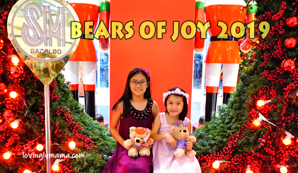 SM Bears of Joy 2019 - Bacolod mommy blogger - SM City Bacolod - Christmas charity - homeschooling - Christmas decor