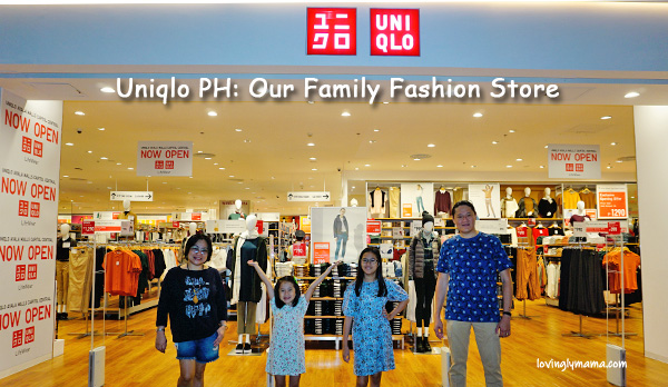 Uniqlo Bacolod - Uniqlo PH - family fashion - mommy style - kids wear - menswear - family travel -family