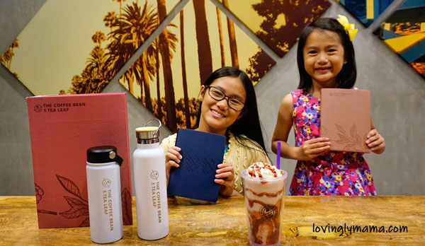 CBTL Giving Journals 2020 - The Coffee Bean and Tea Leaf Bacolod - Bacolod mommy blogger - kids