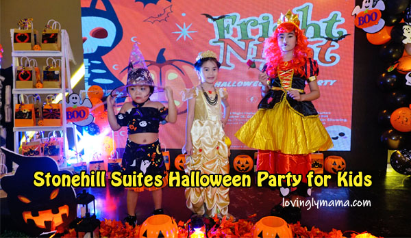 Stonehill Suites Halloween Party for kids - cosplay for kids - costumes for kids - Bacolod mommy blogger - sisters and eli