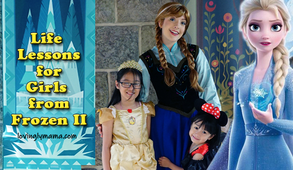 life lessons for young girls - frozen 2 full movie - parenting - Bacolod mommy blogger - Ayala Malls Capitol Central cinema - two sisters - Arendelle - cover