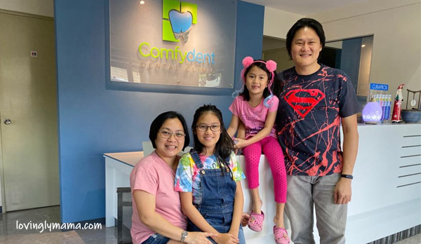 family dentist - comfydent dental - Bacolod dentist for kids - Bacolod mommy blogger - family visit
