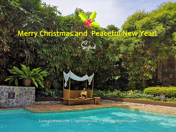 merry christmas to me - Bacolod mommy blogger - to all the friends who stuck by me - christmas greeting - swimsuit - seda ayala center cebu