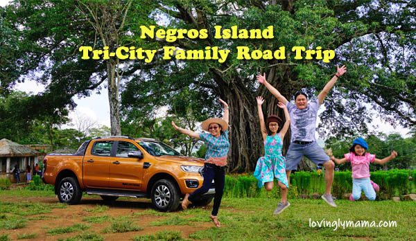 negros island tri-city family road trip - negros occidental - canlaon - Ford Ranger Wildtrak - jump - canlaon century tree