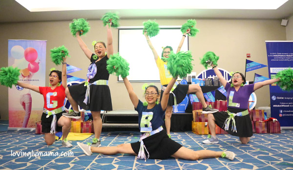 womens health - bacolod blogger betsy gazo - cheerdance - full split - Globe Telecom - finale