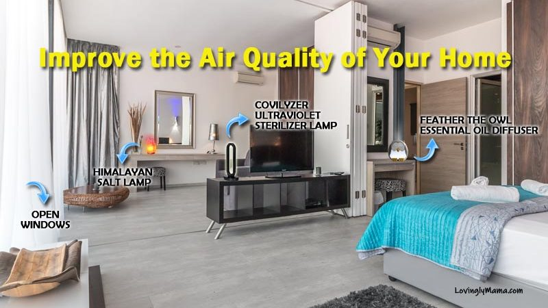 improve the air quality of your home - home design - health - wellness - bacolod mommy blogger - boost immunity