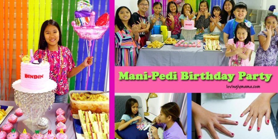 mani-pedi birthday party - birthday party ideas - Bacolod mommy blogger - nail salon - cover